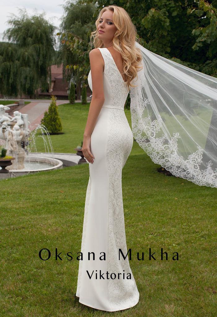 d655319dd477c9 Свадебное платье 2015 Oksana Mukha, модель Viktoria